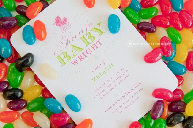 Jellybean Baby Shower Invite Prive Sofitel High Tea