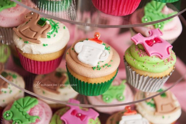 Prive Sofitel Baby Shower Cupcakes High Tea